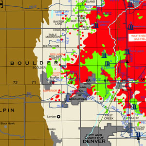 State Oil and Gas: Colorado with Pipelines and Facilities-48