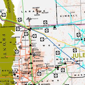 Rocky Mountain Region Gas Pipelines-42