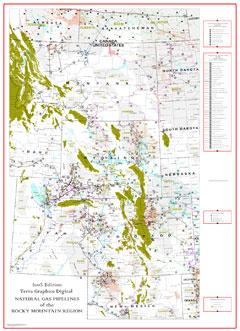 Rocky Mountain Region Gas Pipelines-0