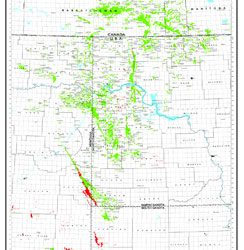 Williston Basin Oil and Gas Production Map-0