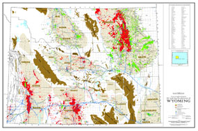 State Oil and Gas: Wyoming with Pipelines and Facilities-0